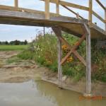 Nog een kiekje van de brug en het eiland